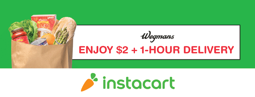 Instacart Promo Codes For Wegmans 2021 Flat 15 Off Zouton