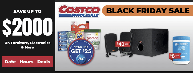 Costco Black Friday 2020 Ads Deals Sales 800 Off Zouton
