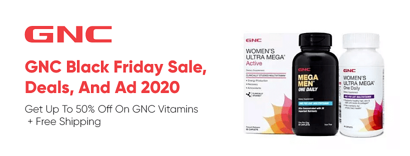 Up to 50% off GNC Coupons and Promo Codes January 2021