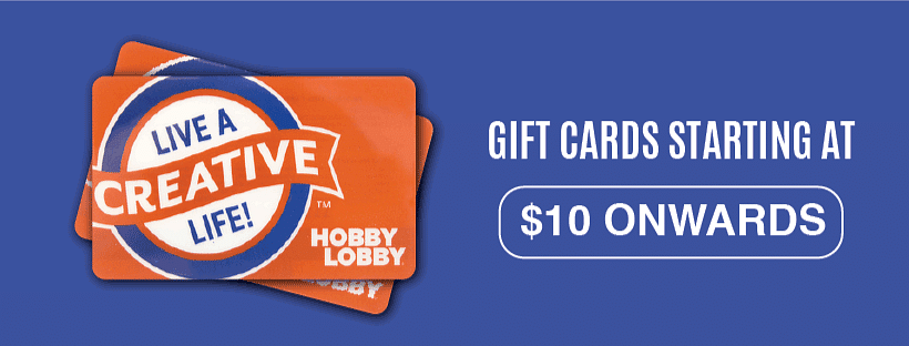 Hobby Lobby Gift Cards Coupon 2020 October Edition Gift Cards Starting From Just 10