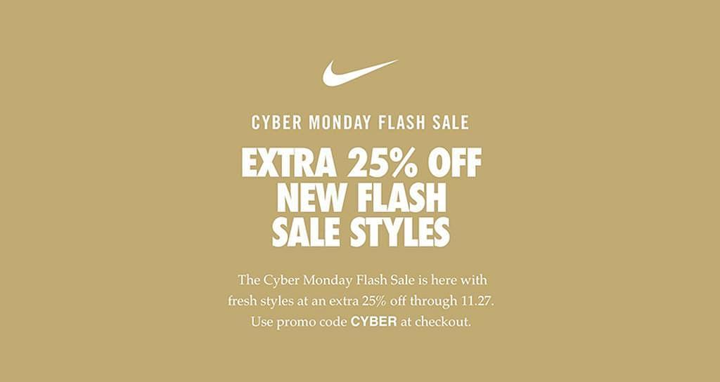 Soldado Hacer un nombre Favor  Nike Cyber Monday: Sale, Deals And Ads | Max 40% Off - Zouton