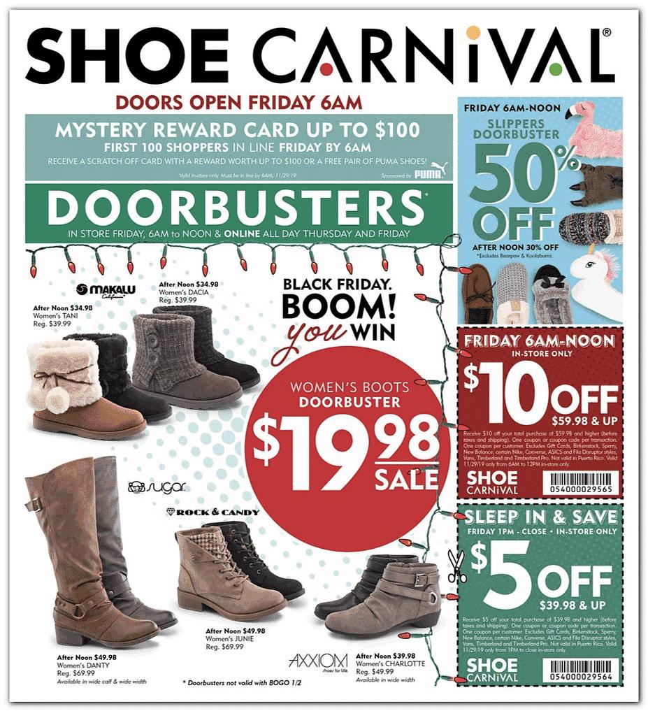 Shoe Carnival Black Friday 2020   Ads