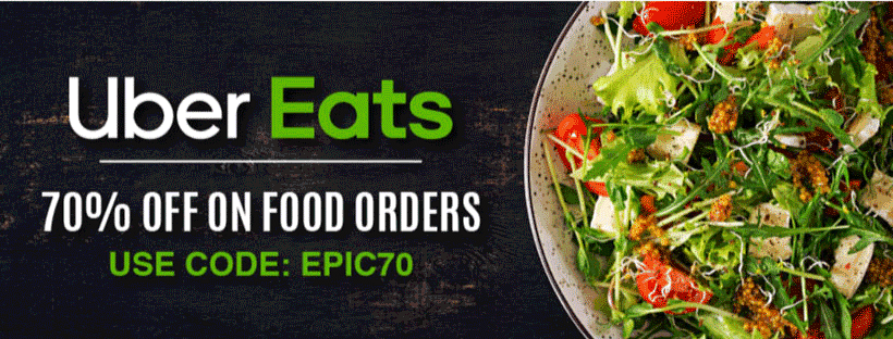 Ubereats October Coupons 2020 Get Flat 70 Off Free Delivery On Burgers Cakes More