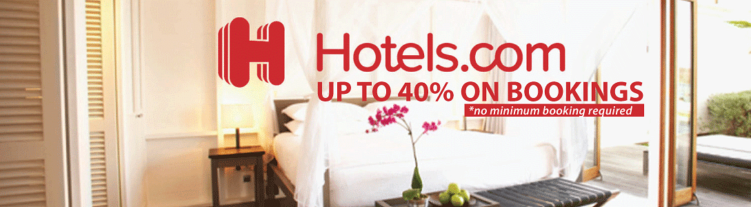 Hotels.com Promo Codes (October 2020): Get 40% Discount On Hotel Bookings