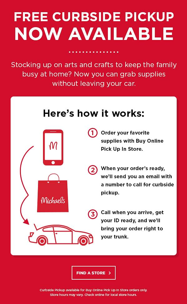 Michael S Printable Coupons Save 20 Off On Art Supplies Crafts Framing