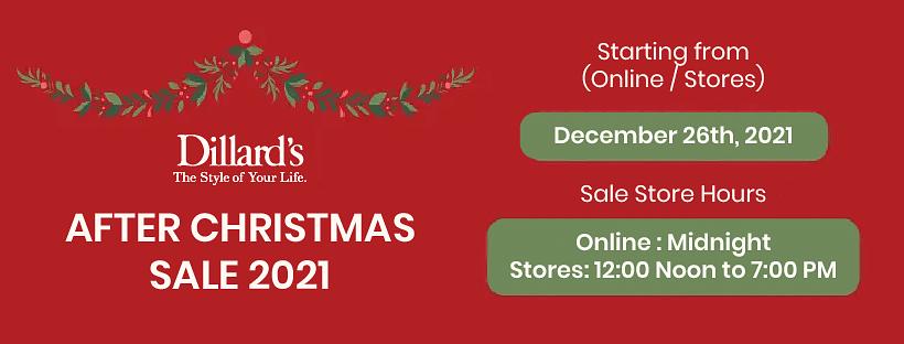 Dillards Christmas 2021
