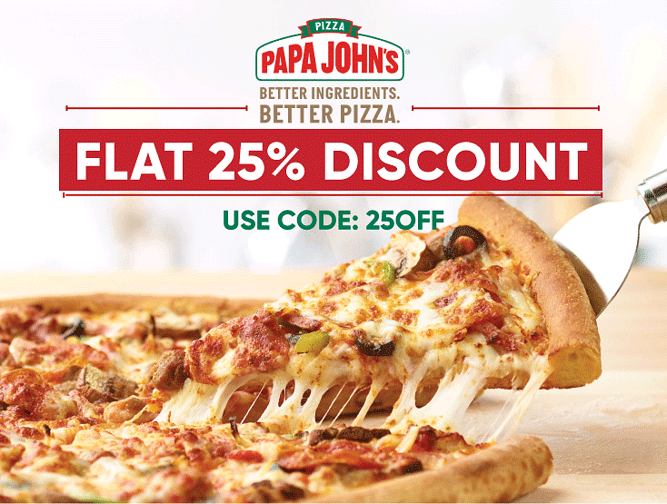 50 Off Papa John S Coupons Promo Codes 2021 50 Off Entire Meal Zouton