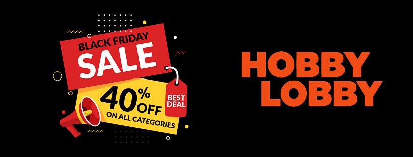 Hobby Lobby Black Friday Sale 2020